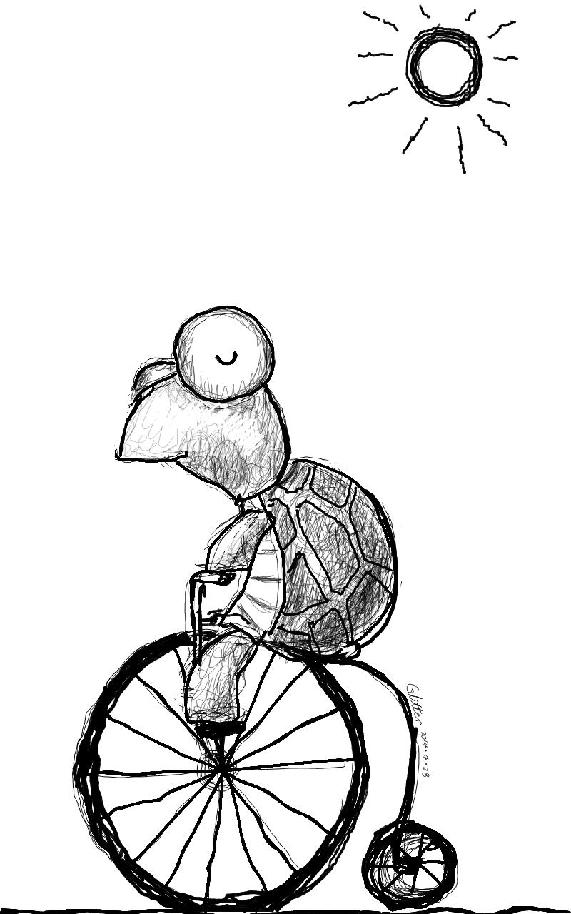 涂鸦-小乌龟