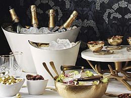 Donatella Ceramic Entertaining Collection