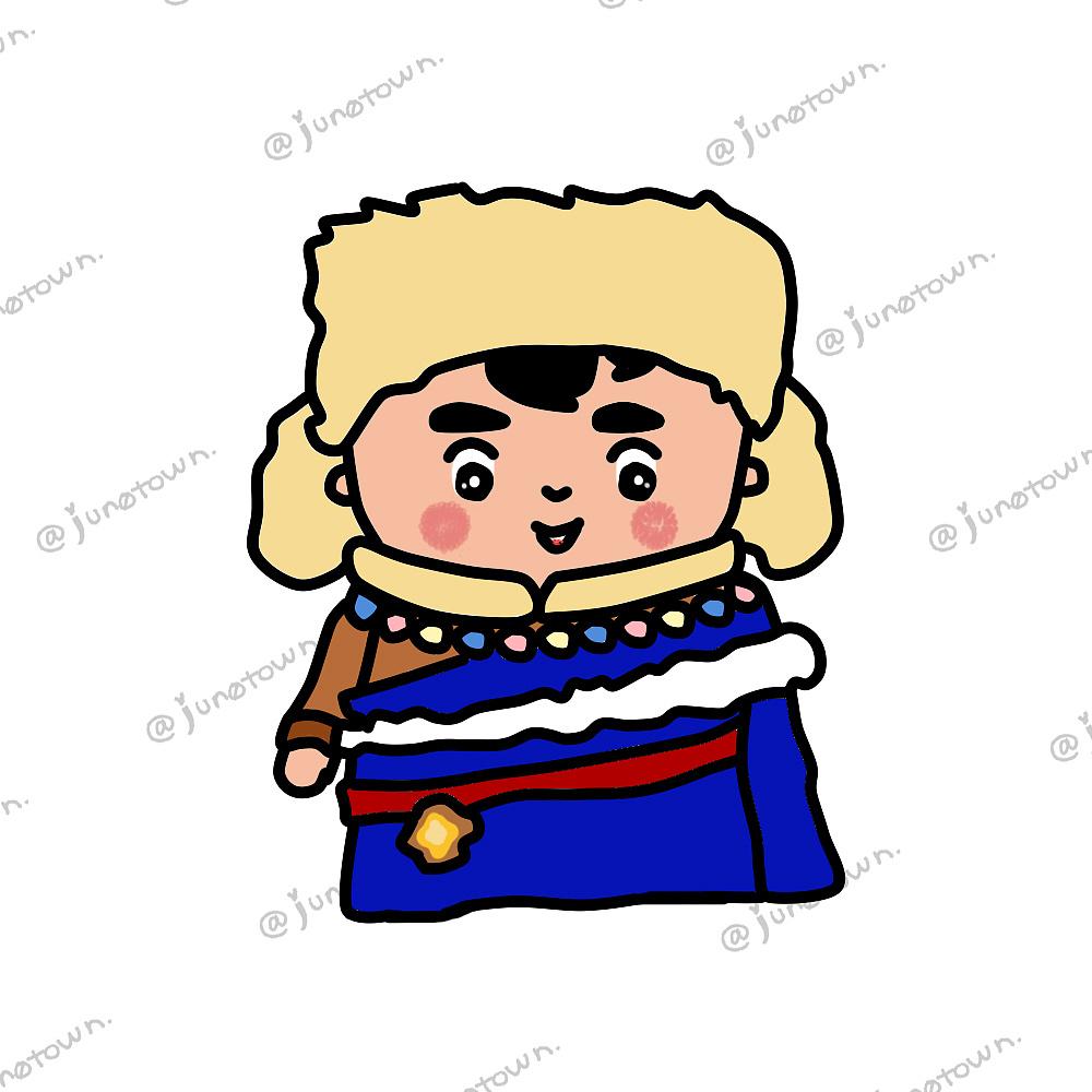 藏族小孩卡通形象