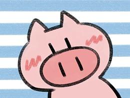 动态表情包-为什么是猪呢