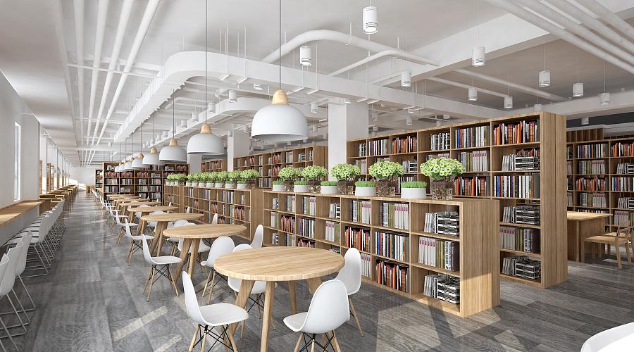 文献图书馆五楼艺术价格中心v文献|室内设计|空ui网页设计大学图片