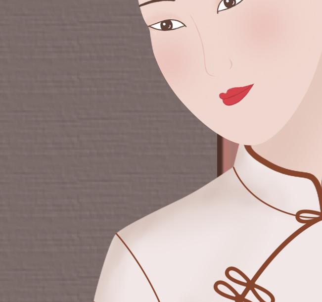 古风旗袍美女