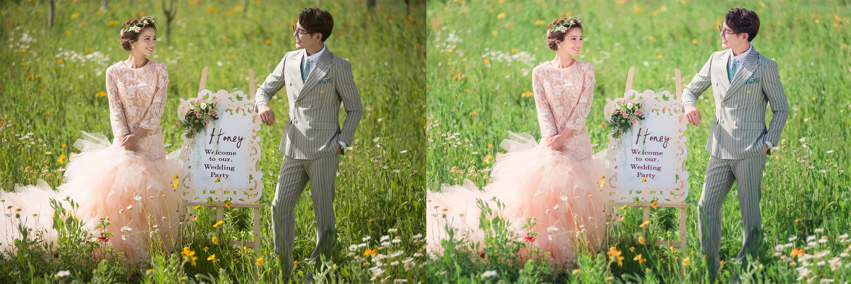 练习--韩式田园风婚纱后期|摄影|风光|大唐英雄