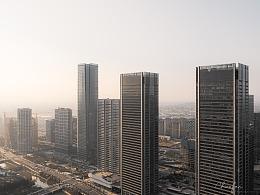 杭州未来科技城建筑拍摄