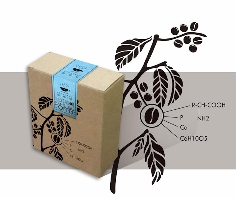 咖啡场挂耳咖啡包装设计初稿