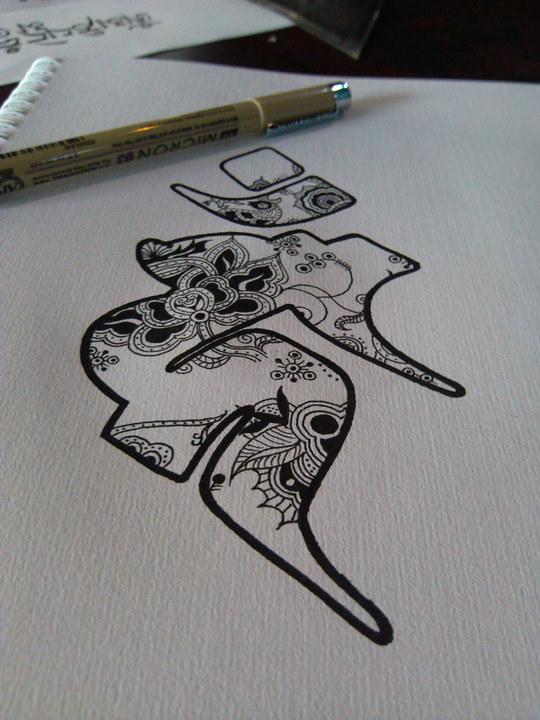 纹身种子v纹身-图案字平面设计用amd和intel图片