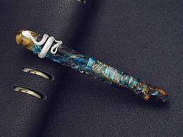 【野兽手工钢笔】星海  蛇