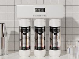 9-10月·净水器|电商产品场景渲染