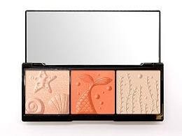 美妆修容盘/粉面图案设计