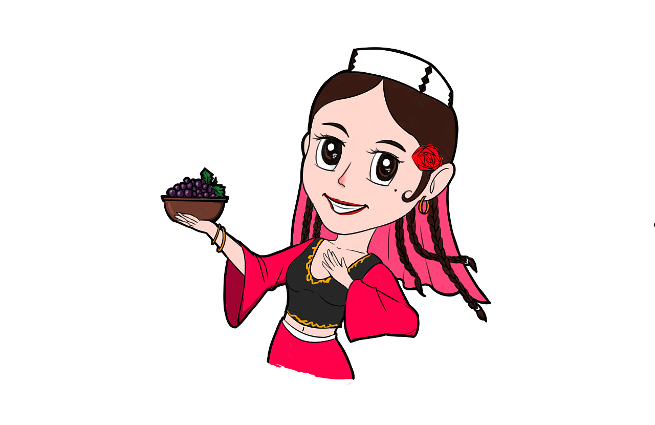 手绘淘宝店铺logo