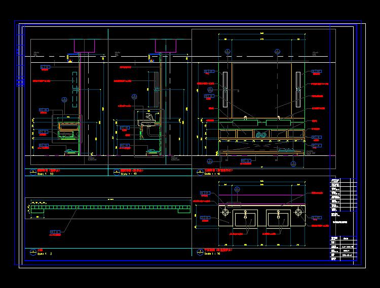 五星酒店大堂效果图_CAD公装室内设计酒店大堂施工图图纸附加效果图|三维|建筑/空间 ...