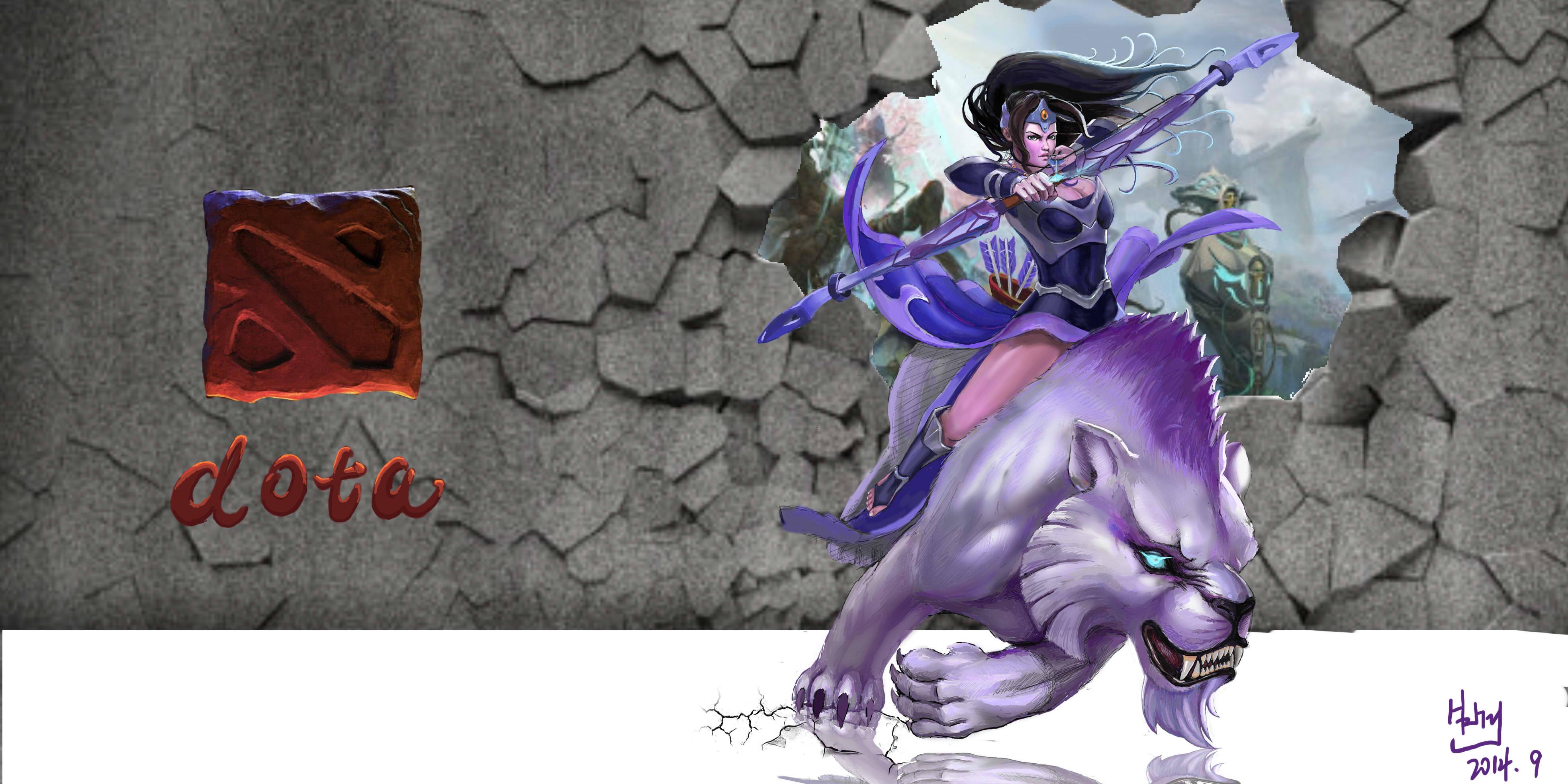手绘原画|插画|游戏原画|89黑曼巴 - 原创作品 - 站酷