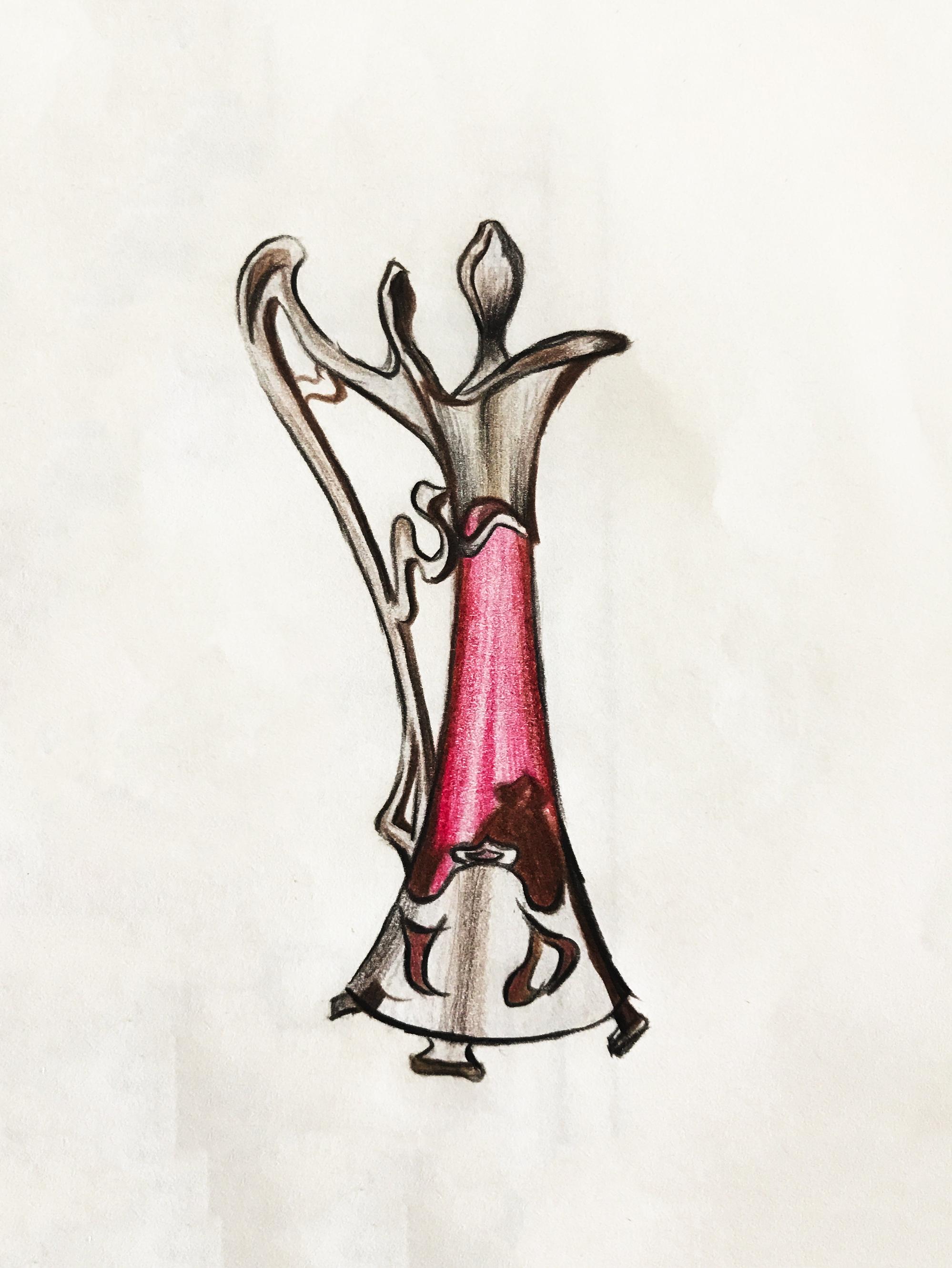 手绘香水瓶_设计图分享
