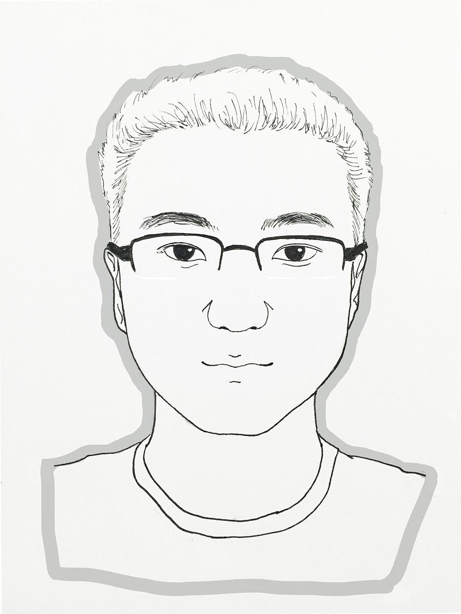 原创作品:手绘头像