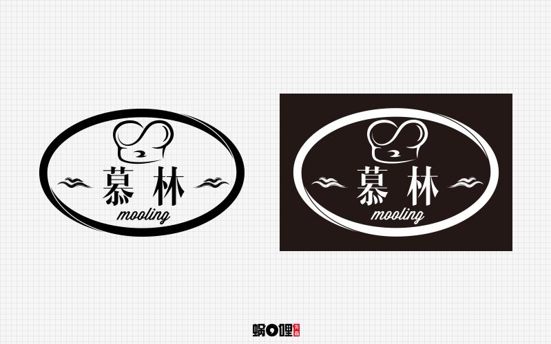 蛋糕店logo设计图片