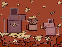 鼠年插画--鼠年大吉
