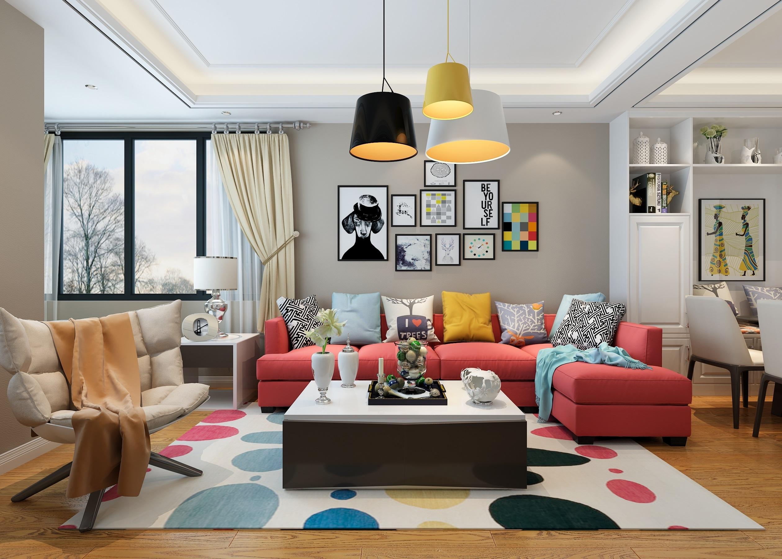 北欧风格|空间|室内设计|林悦室内设计 - 原创作品