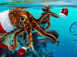 深海水下创意拍摄 合成  2018  11