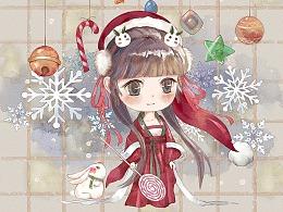 又准备圣诞节啦