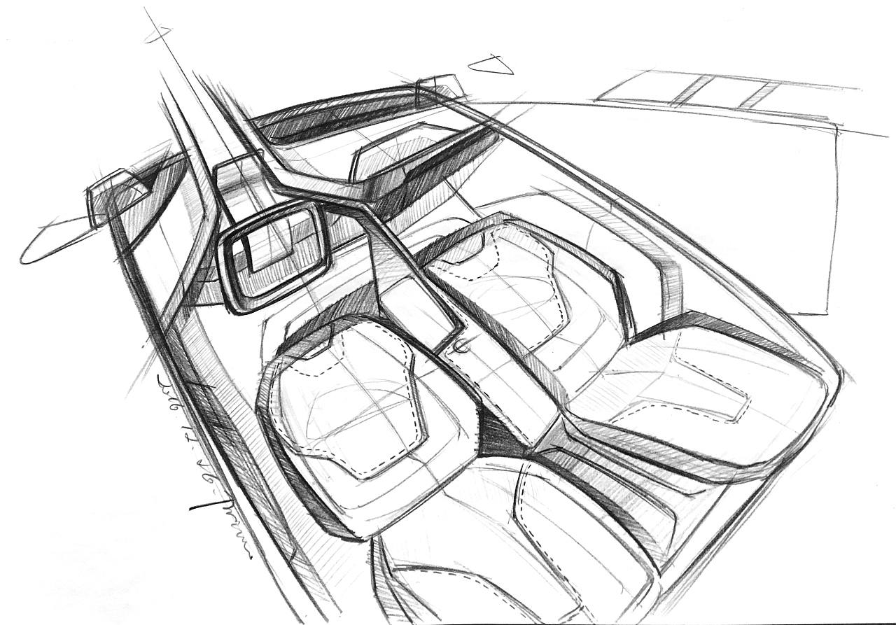 汽车手绘|工业/产品|交通工具|彭旭 - 原创作品