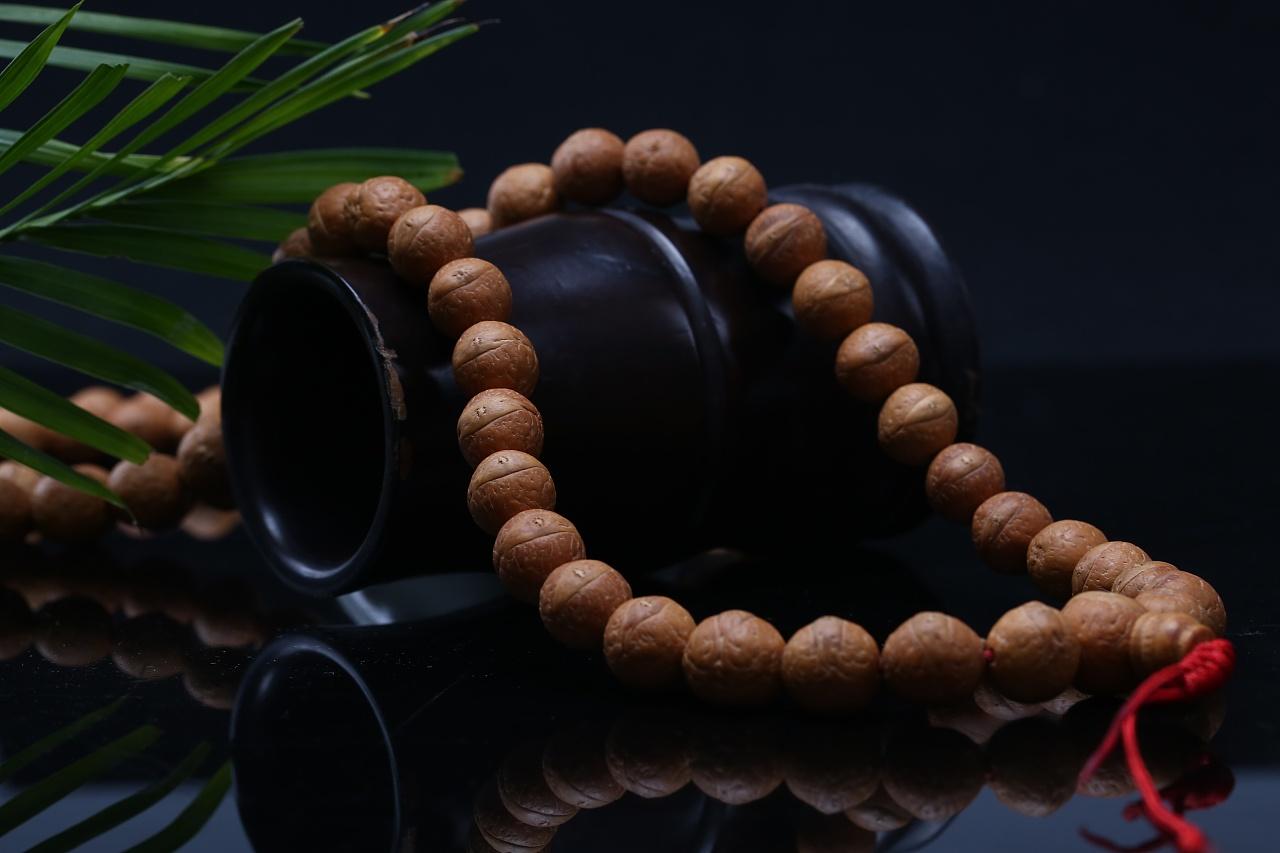 佛珠接头编织方法图解