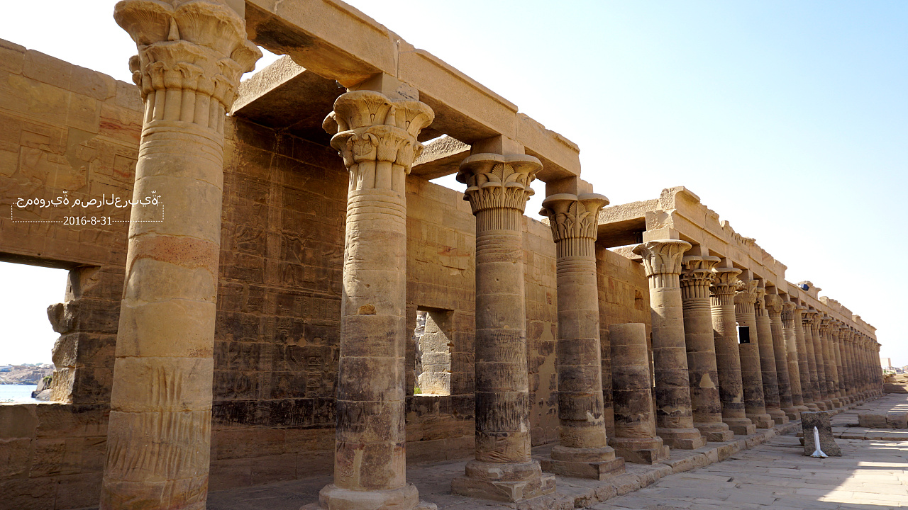 埃及神庙图片