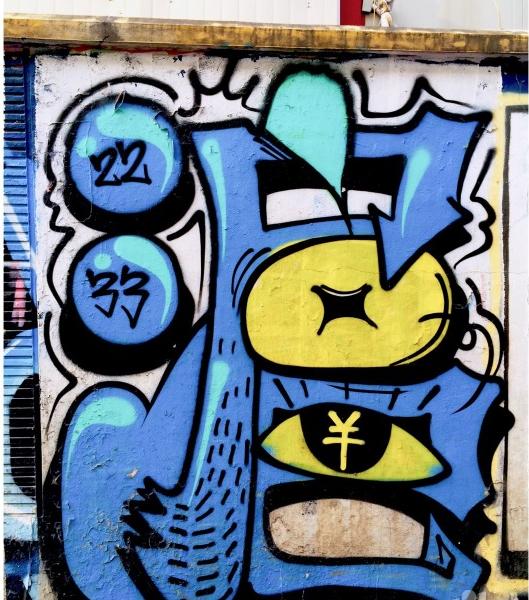 手绘涂鸦墙 涂鸦字体 涂鸦王国
