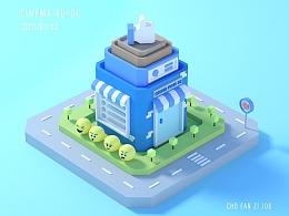 卡通小镇之临摹Yunjung Seo大神作品
