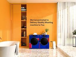洗衣机【Rendering】