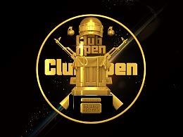 VSPN量子体育 Club Open2019精英争霸赛 奖杯设计