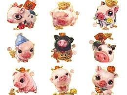 猪猪过年~生肖猪