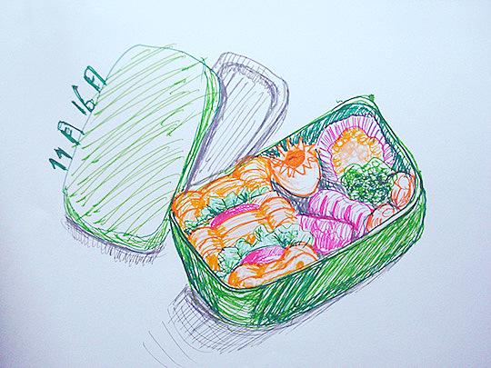 【深夜食堂】手绘美食|插画|插画习作|壹柒壹画