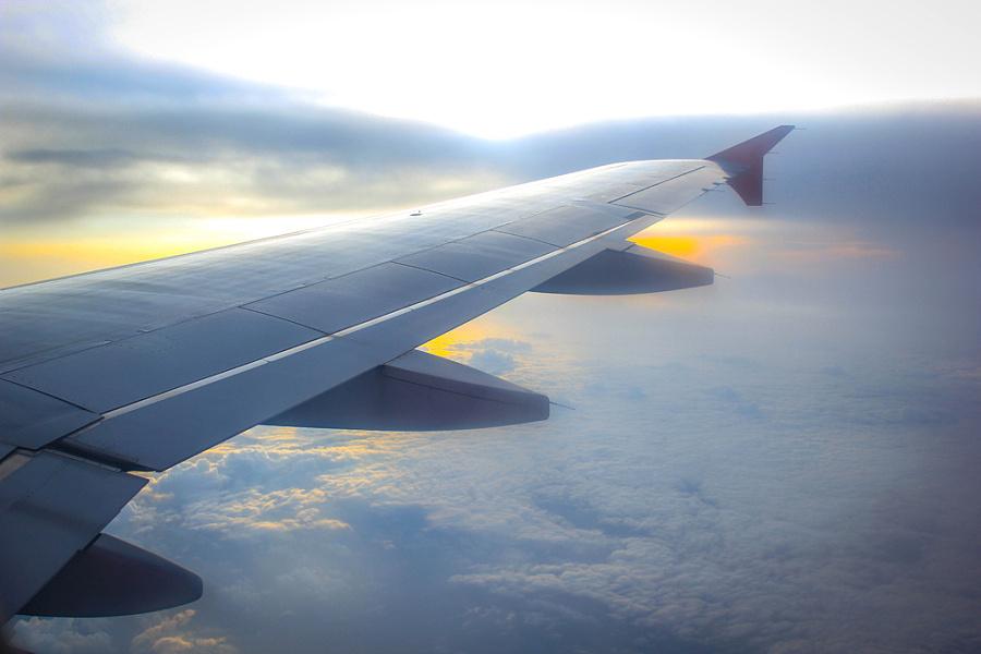 飞机上的风景|风光|摄影|久木目