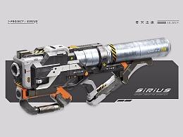 鸿运国际_KFGZ[玩具设计合集] 两款科幻风格玩具枪(AR玩具+水枪)
