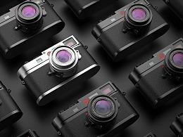 五月末:一组莱卡可乐相机keyshot渲染