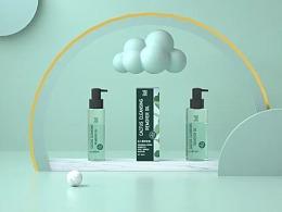 《原创包装设计》- 仙人掌卸妆油