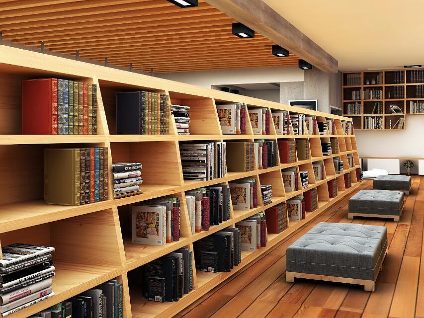 城市书吧|空间|室内设计|途途 - 原创作品 - 站酷