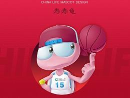 中国人寿CBA吉祥物设计大赛作品