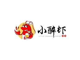 小醉虾品牌logo概念稿