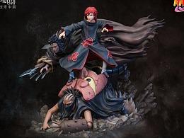 【开天火影忍者系列雕像·赤砂之蝎】
