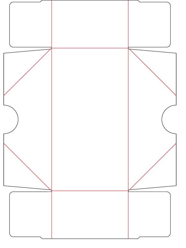 千款纸盒包装结构展开图下载 包装 平面 我叫小5