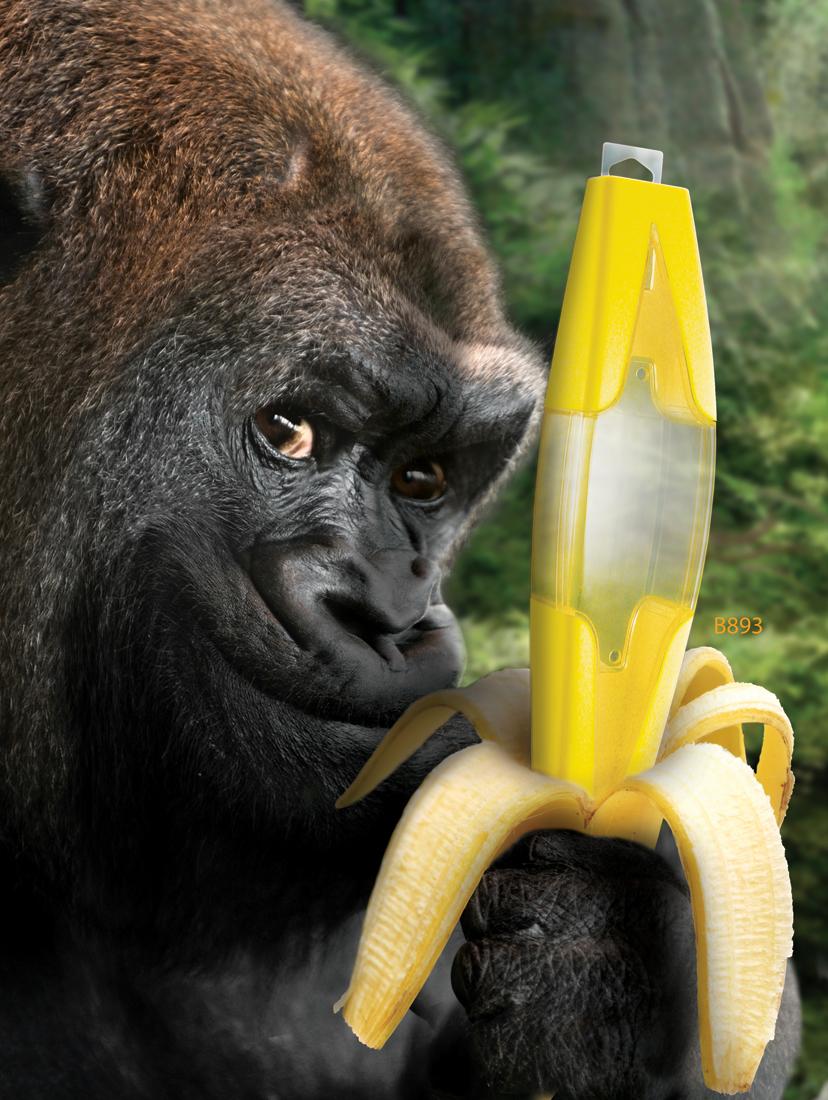 邪恶香蕉手机壁纸
