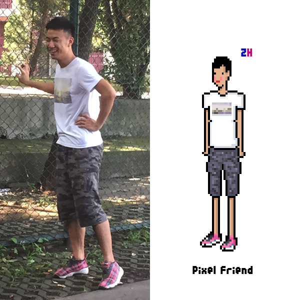 pixel friend/寝室大合照