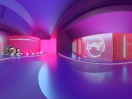 真实自我——MTLOGO艺术展H5 场景设计