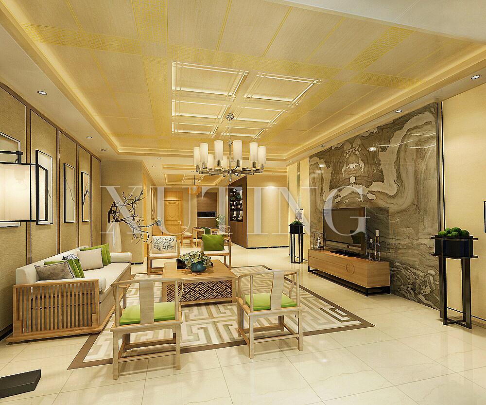 新中式风格室内设计作品图片