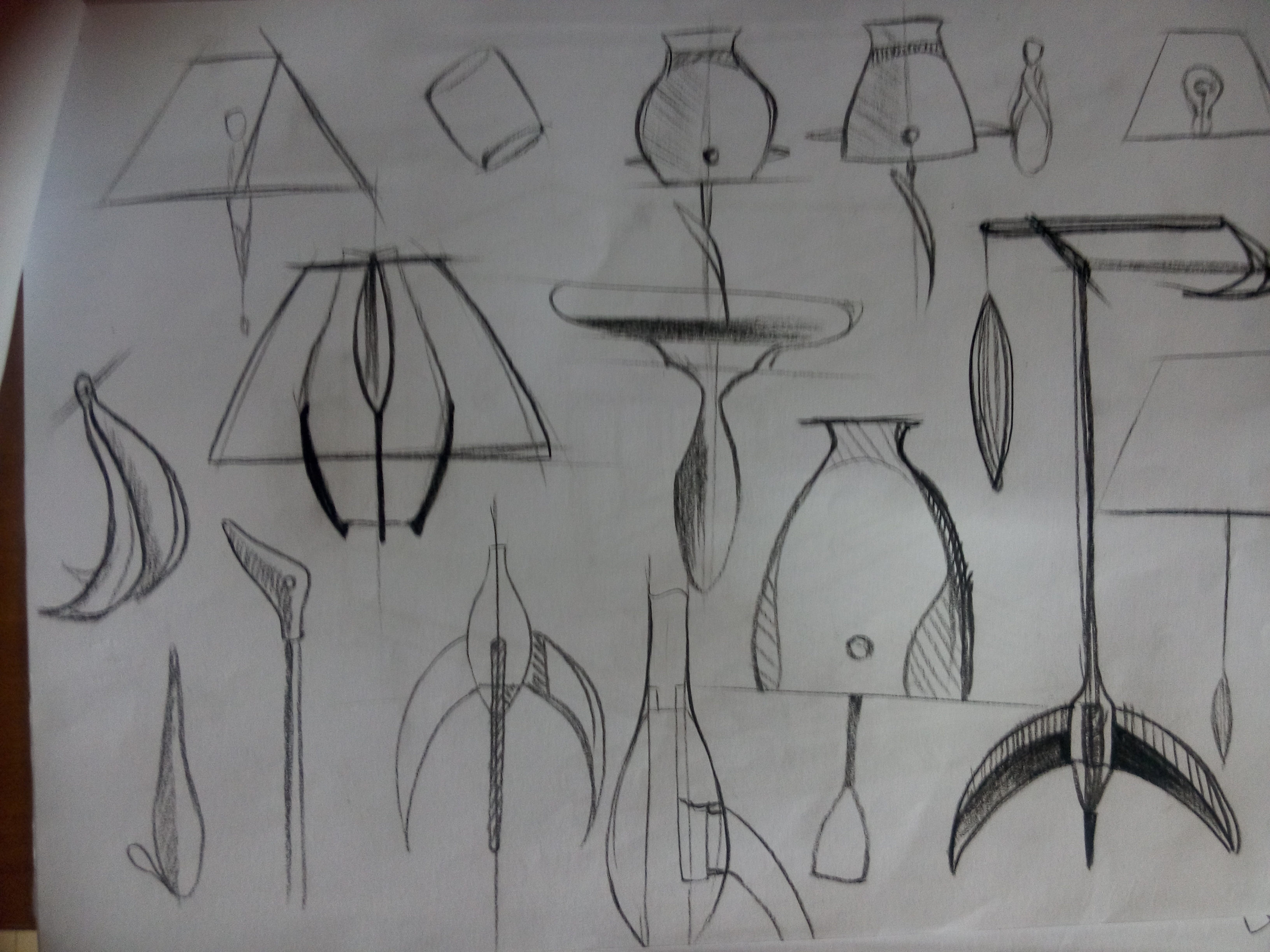 产品设计草图手绘练习1