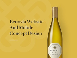 Benovia Winery 官网-概念设计