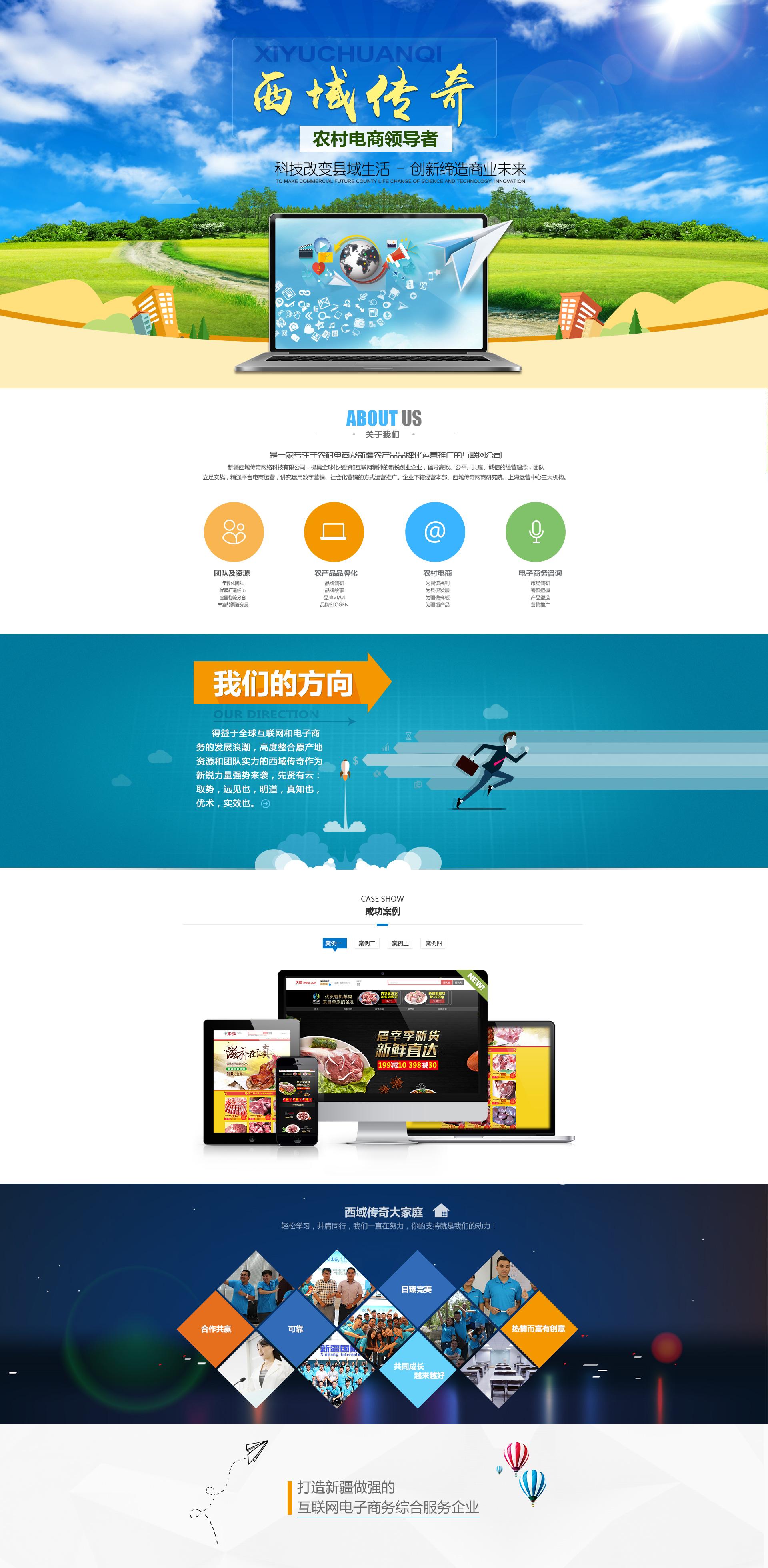 根据公司网站页面的布局,制定相应的规划设计框架图片