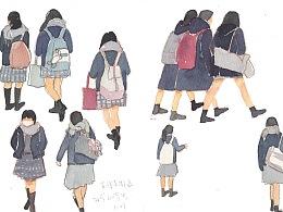 手绘一次旅行|从东京到千叶、茨城