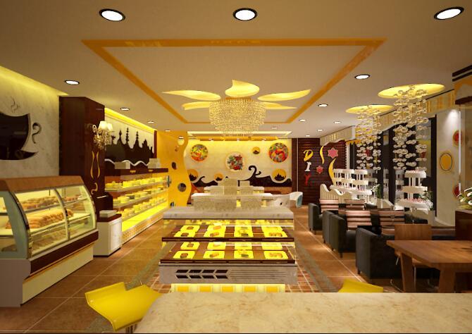 蛋糕店装修设计不要顾头不顾尾 室内设计 空间 zztl